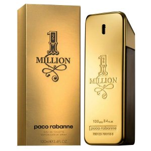 Perfume 1 Million Paco Rabanne Eau de Toilette Masculino 200 ml