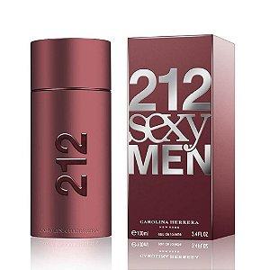 Perfume 212 Sexy Men Carolina Herrera Eau de Toilette Masculino 100 ml