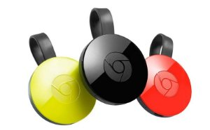 Novo Google Chromecast 2 Hdmi Full HD Wireless | Para Android, PC, MAC e IOS