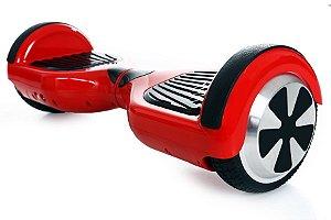 Smart Balance Hoverboard Skate Elétrico Vermelho Com Iluminação - Acompanha Bolsa Para Transporte