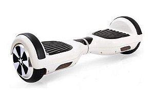 Smart Balance Hoverboard Skate Elétrico Branco Com Iluminação - Acompanha Bolsa Para Transporte