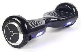 Smart Balance Hoverboard Skate Elétrico Preto Com Iluminação - Acompanha Bolsa Para Transporte