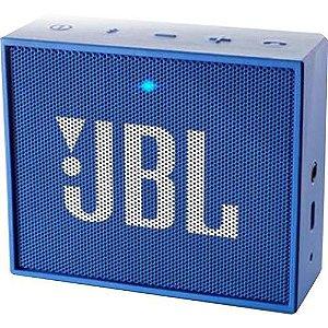 Caixa De Som Bluetooth JBL Go Azul 5h De Bateria