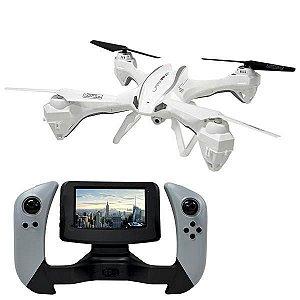 Drone UDIRC Lark FPV U842-1 Quadrotor 6 Eixos Giroscópio Câmera HD - Branco