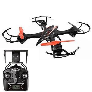 Drone UDIRC Predator FPV U842 U842 WiFi 2.4GHz - Preto/Laranja