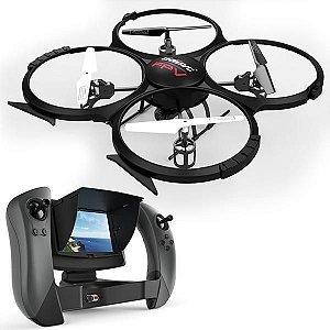Drone Udirc Discovery U818A FPV 360° - Preto