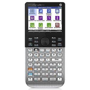 Calculadora Gráfica HP Prime Tela e Teclado Touch – Preto/Prata