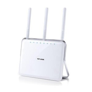 Roteador TP-Link Archer C9 AC1900 Wireless 3 Antenas Dual Band LAN 10/100/1000Mbps - Branco