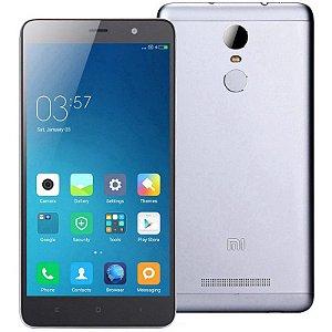 """Smartphone Xiaomi Redmi Note 3 16GB LTE Dual Sim Tela 5.5"""" Câm.16MP+5MP-Cinza"""