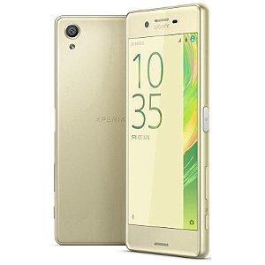 "Smartphone Sony Xperia X F5121 3GB/32GB LTE 1Sim Tela 5.0""FHD Câm.23MP+13MP- Verde"