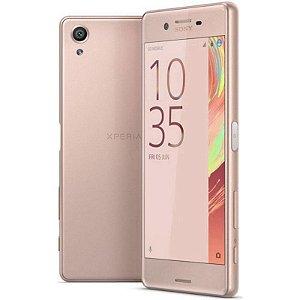 "Smartphone Sony Xperia X F5121 3GB/32GB LTE 1Sim Tela 5.0""FHD Câm.23MP+13MP-Rosa"
