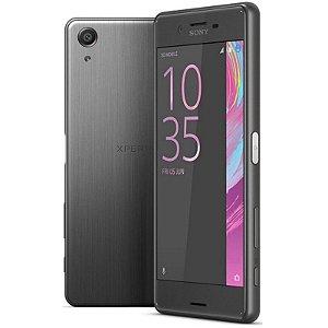 "Smartphone Sony Xperia XA 2GB/16GB LTE 1Sim Tela 5.0""FHD Câm.13MP+8MP- Preto"
