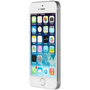 Smartphone Apple IPhone 5S 16GB Prata ME433BZ- A1457D Anatel Garantia Brasil 1 Ano