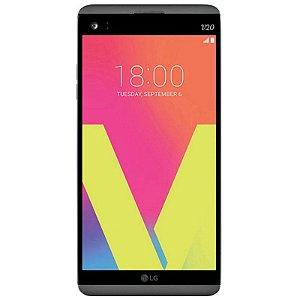 "Smartphone LG V20 H990 LTE Dual Sim Tela QHD 5.7"" 4GB/64GB Câm.Dual 16MP+8MP/5MP- Grafite"