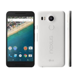 "Smartphone LG Nexus 5X H791 32GB LTE 1Sim Tela 5.2"" Câm.12.3MP+5MP - Branco"