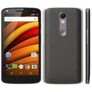 "Smartphone Motorola Moto X Force XT1580 32GB LTE 1Sim Tela 5.4"" Câm.21MP+5MP-GRAFITE"