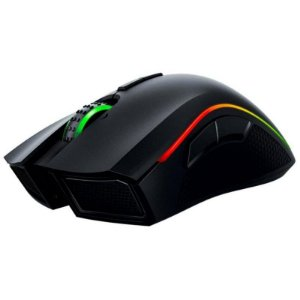 Mouse Gaming Razer Mamba Chroma RZ01-01360100 Wireless - Preto