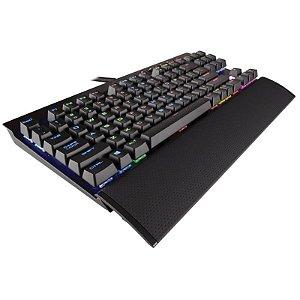 Teclado Corsair Gaming K65 RGB Rapid Fire Preto (Inglês - Com Fio)