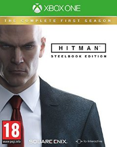 JOGO HITMAN THE COMPLETE FIRST SEASON STEELBOOK EIDITION XBOX ONE