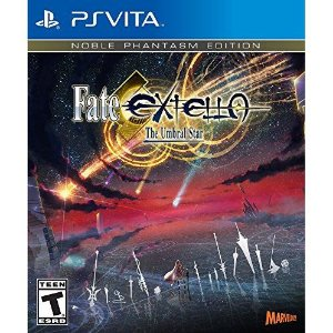 JOGO FATE EXTELLA NOBLE PHANTASM EDITION PS VITA