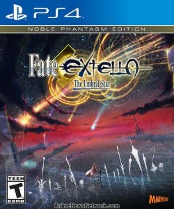 JOGO FATE EXTELLA NOBLE PHANTASM EDITION PS4