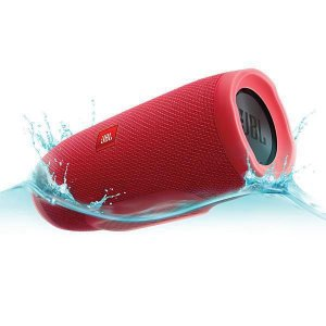 Speaker JBL Charge 3 Bluetooth IPX7 Bivolt 2 x 10W RMS - Vermelho.