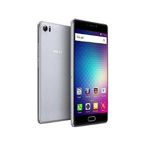 """Smartphone Blu Pure XR Dual Sim LTE Tela FHD 5.5"""" 8Core 4GB/64GB Câm.8MP/16MP Cinza"""