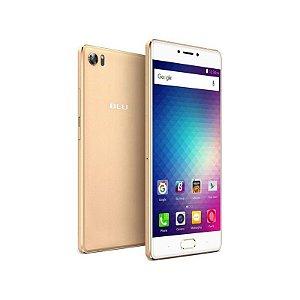 """Smartphone Blu Pure XR Dual Sim LTE Tela FHD 5.5"""" 8Core 4GB/64GB Câm.8MP/16MP Dourado"""
