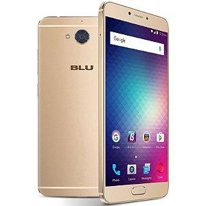 """Smartphone Blu Vivo 6 Dual Sim 4G LTE Tela 5.5""""FHD 64GB/4GB Câm. 13MP/8MP Dourado"""
