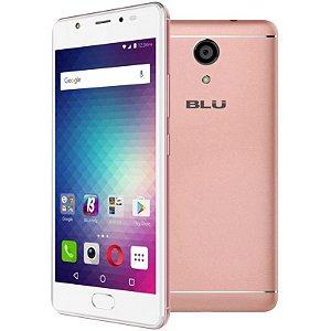 """Smartphone Blu Life One X2 Dual Sim LTE Tela 5.2""""HD 64GB/4GB Câm. 16MP/8MP Rose"""