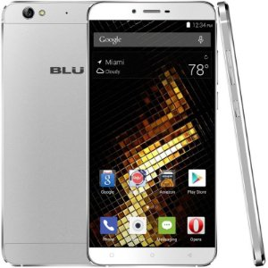 "Smartphone Blu Vivo 5 Dual Sim 4G LTE Tela 5.5"" HD 32GB/3GB Câm. 13MP/5MP Prata"