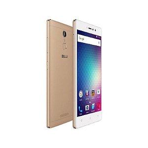 "Smartphone Blu Vivo 5R Dual Sim 4G LTE Tela 5.5""FHD 32GB/3GB Câm. 13MP/8MP Dourado"