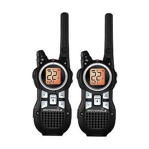 Walkie Talkie Motorola MR-350MR p/ Aproximadamente 56km - Preto