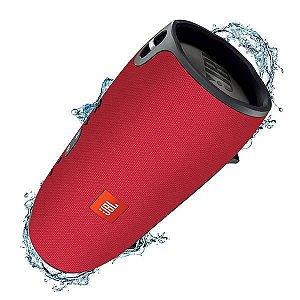 Speaker Portátil JBL Xtreme Bluetooth Bateria 10000mAh USB - Vermelho