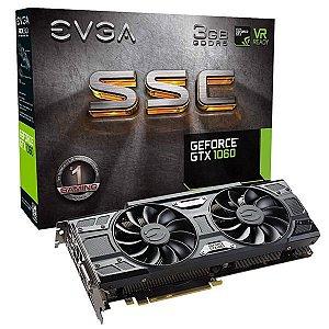 Placa de Vídeo EVGA GeForce GTX 1060 (SSC) 3GB GDDR5