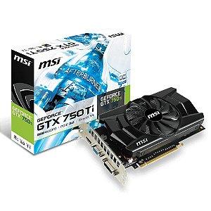 Placa de Video MSI GTX 750 Ti 2GB GDDR5 PCI-EXP3.0