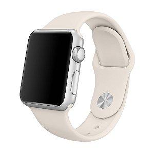 apple watch pulseira mlku2zm/a sport 38mm branco