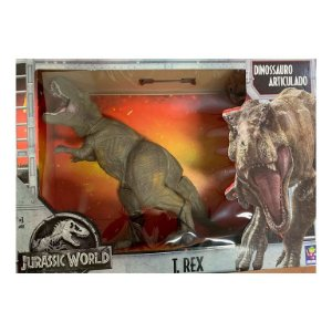 Boneco Jurassic World T-Rex, Mimo