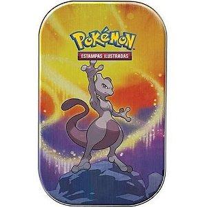Jogo de Cartas Pokémon - Deck Lata - Poder de Kanto - Mewtwo- Copag