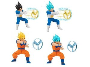 Boneco Dragon Ball Super Lançador Circulo de Fogo