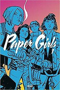 Paper Girls Vol. 1 Capa comum