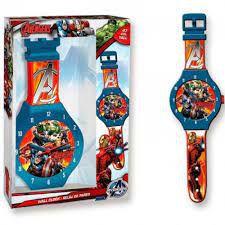 Relógio De Parede Avengers 47cms Dtc