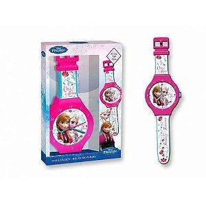 Relógio De Parede Frozen Dtc