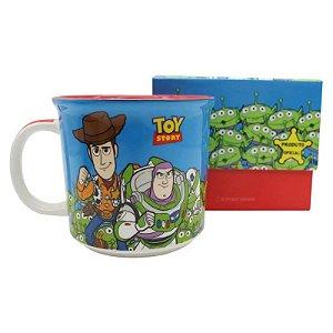 Caneca Toy Story Woody e Buzz 350ml Original Zona Criativa