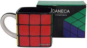 Caneca Cubo Magico Rubiks 300ml