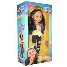 Boneca Carinha de Anjo Juju Baby Brink