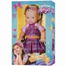 Boneca Carinha De Anjo Duce Maria Baby Brink