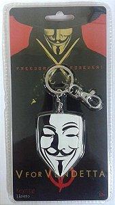 Chaveiro Mask V for Vendetta ( V de Vingança ) - SD Toys