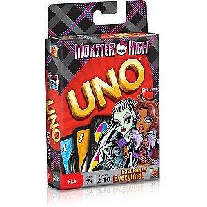 Jogo Uno Monster High - Mattel