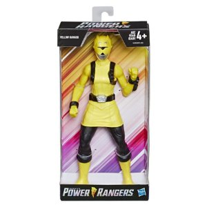 Power Rangers Boneco Ranger Amarelo 25 Cm - E5901 - Hasbro